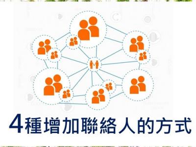 4種增加聯絡人的方式